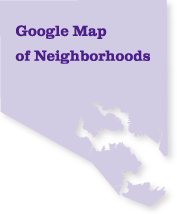 Google Map of Neighborhoods